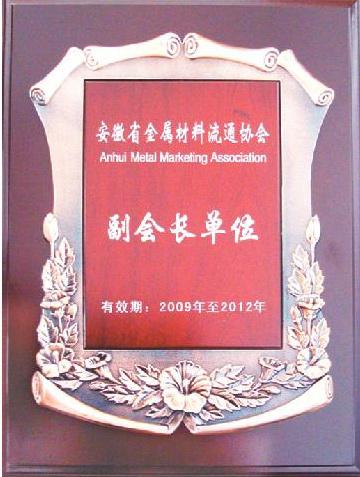 2009金属材料流通协会副会长